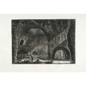 Altra Veduta interna della Villa di Mecenate in Tivoli - Giovanni Battista Piranesi – Le Vedute di Roma – Facsimile Giclee Print