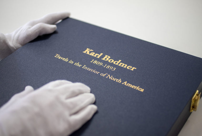 Karl Bodmer Complete Set Giclée Prints in Sollander Box