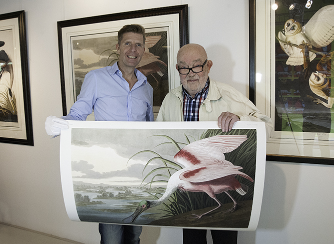 Heritage prints was created bij Gies Pluim, art lover and former publisher
