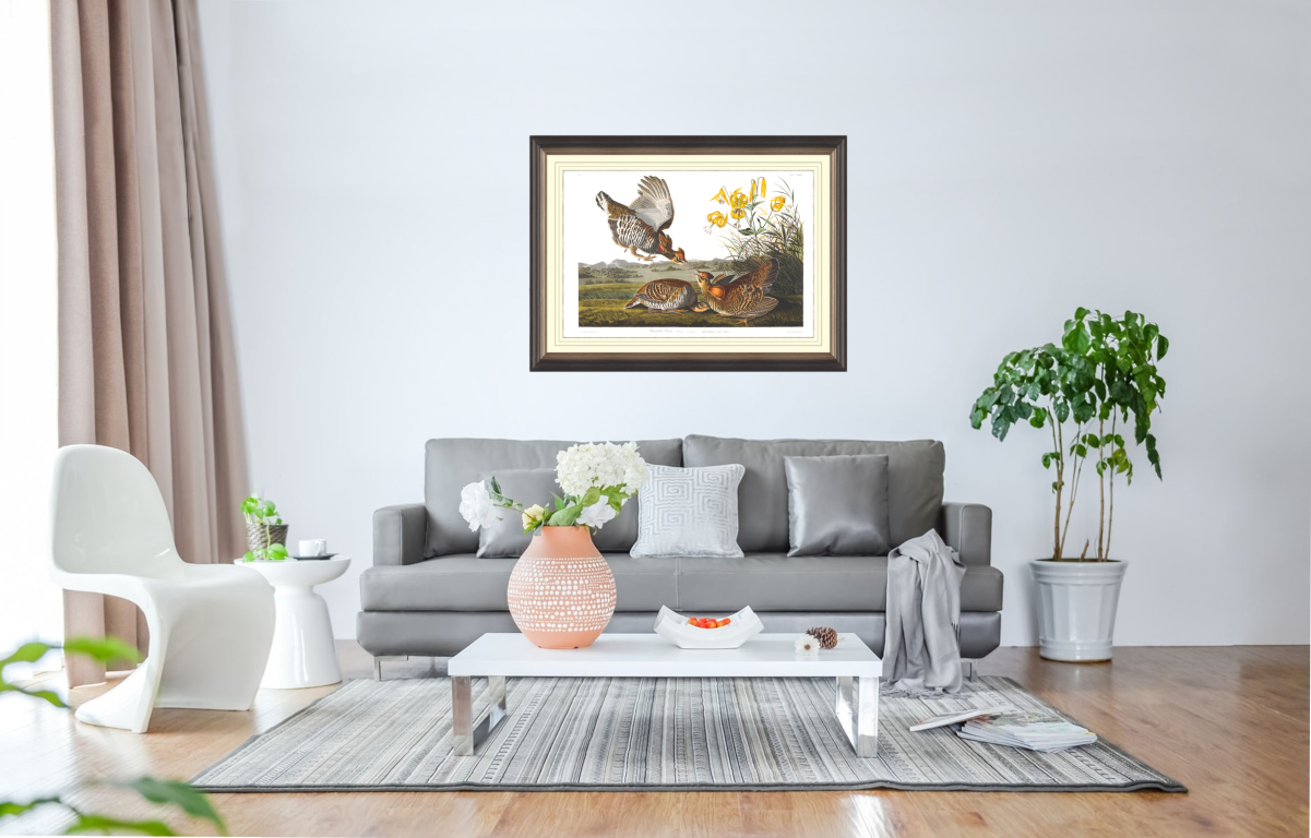How your giclée print will look on your wall