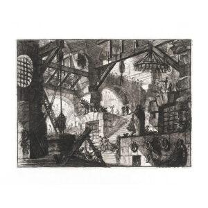 The Well. Plate 13. Giovanni Battista Piranesi – Carceri d'Invenzione – Imaginary Prison. Heritage Prints. Museum quality giclee print.