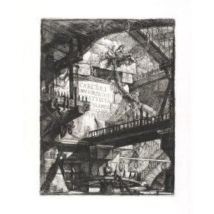 Title page - Giovanni Piranesi - Carceri d'Invenzione – Museum quality giclee prints