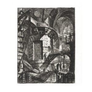 The Round Tower - Giovanni Piranesi - Carceri d'Invenzione – Museum quality giclee prints