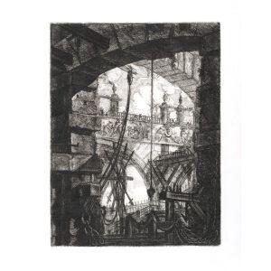 The Grand Piazza - Giovanni Piranesi - Carceri d'Invenzione – Museum quality giclee prints
