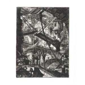 The Drawbridge - Giovanni Piranesi - Carceri d'Invenzione – Museum quality giclee prints