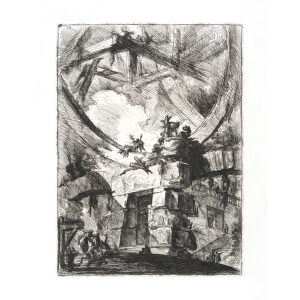 The Giant Wheel - Giovanni Piranesi - Carceri d'Invenzione – Museum quality giclee prints