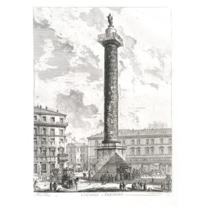 Colonna Antonina - Giovanni Battista Piranesi – Le Vedute di Roma – Facsimile Giclee Print