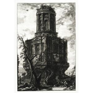 Avanzi di un antico Sepolcro - Giovanni Battista Piranesi – Le Vedute di Roma – Facsimile Giclee Print